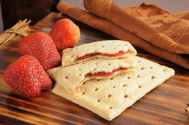 Strawberry toaster tarts