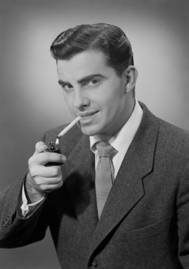 Men's Hairstyles of the 1940s   LEAFtv