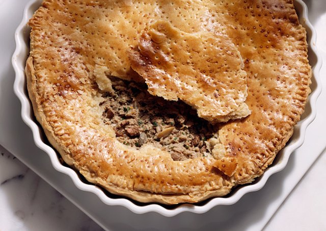 how to reheat frozen meat pies