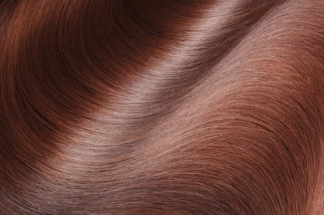 straight, smooth, glossy hair
