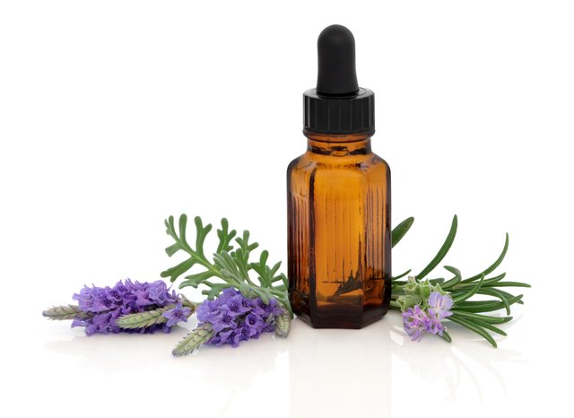 Lavender and Rosemary Massage oil