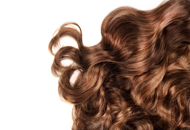 Beautiful glossy, healthy hair