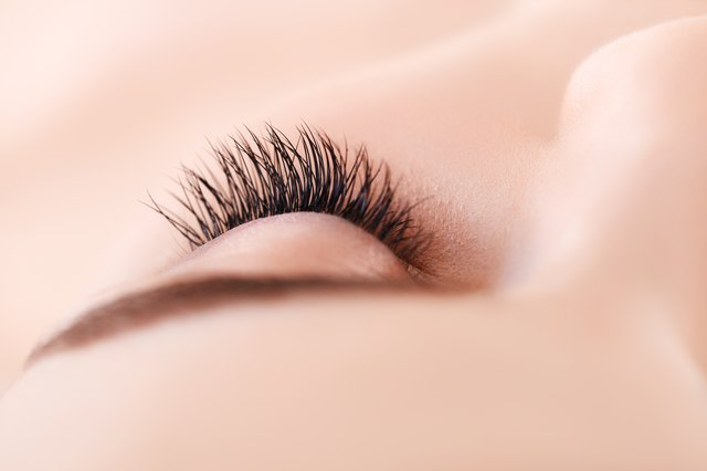 Woman Eye with Eyelashes