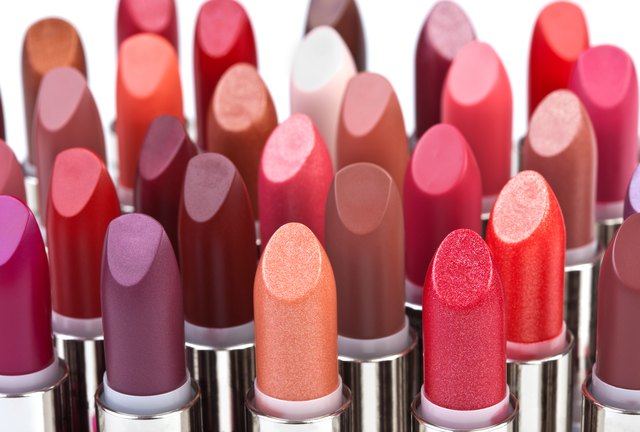 Big group of lipsticks