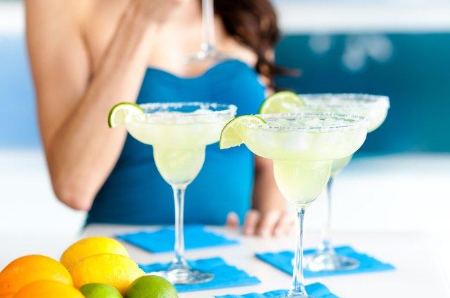 Three Margaritas Close Up