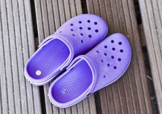 Croc-brand shoes