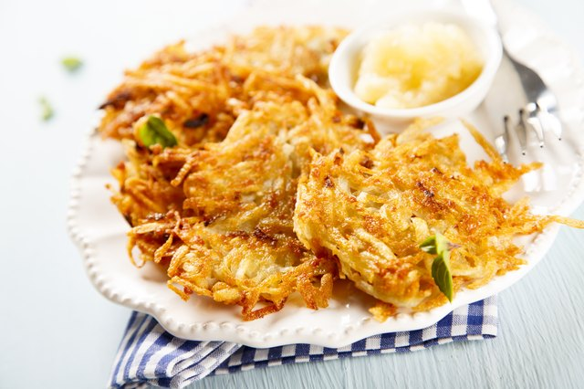 How To Reheat Potato Pancakes