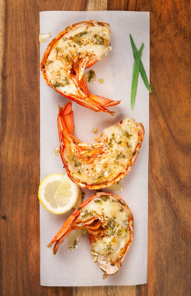 how to prepare frozen lobster tails