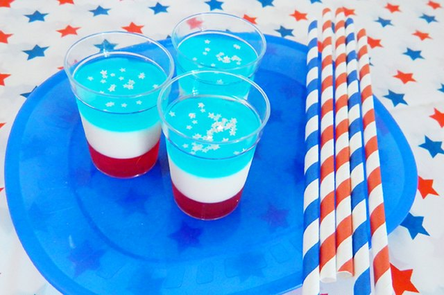 how to make white jello shots