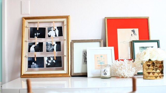 DIY Clothespin Picture Frame | LEAFtv