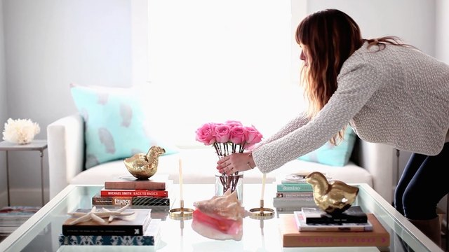 5 Steps To A Girly Glam Coffee Table LEAFtv