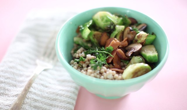 The Fall Couscous Salad Leaftv