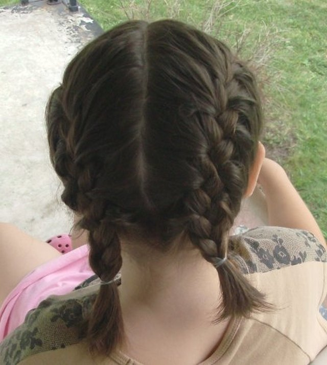 How to do a double french braid leaftv step 1 wash the hair that is going to be french braided ccuart Gallery