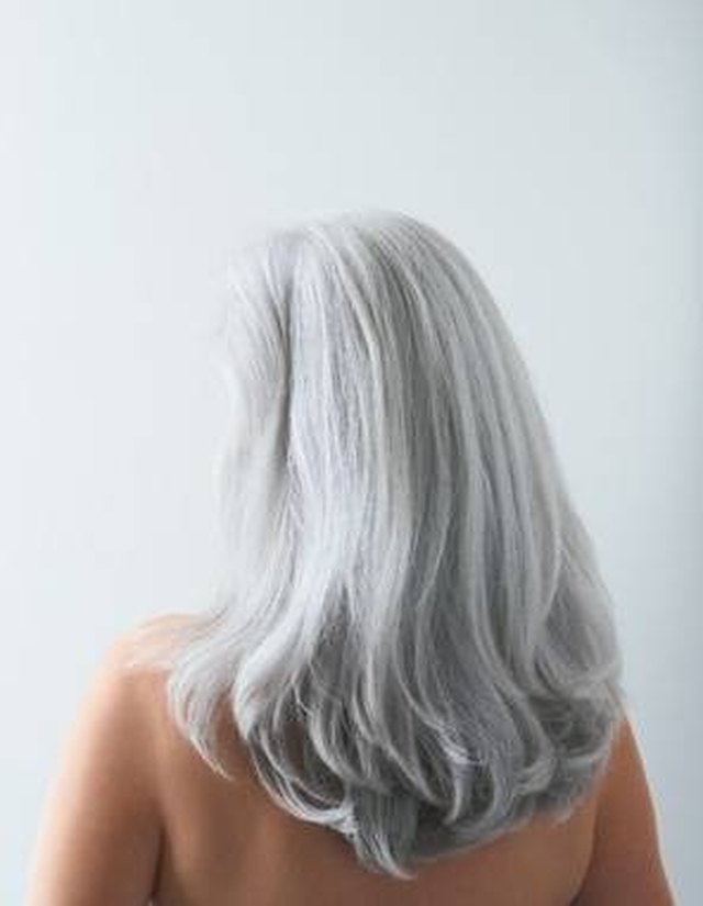 How To Turn Gray Hair Golden Blond Leaftv