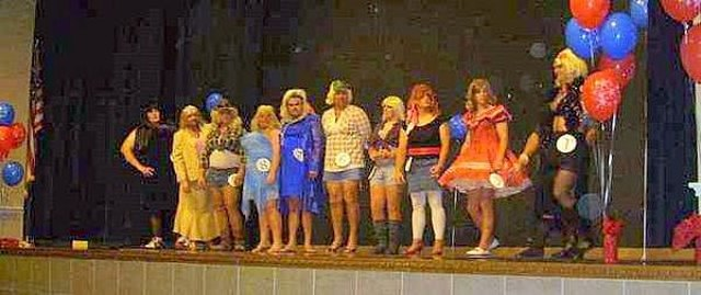 Womanless beauty pageant prizes