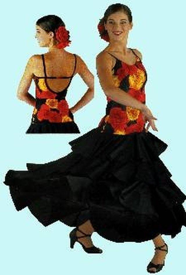 flamenco dress history leaftv. Black Bedroom Furniture Sets. Home Design Ideas