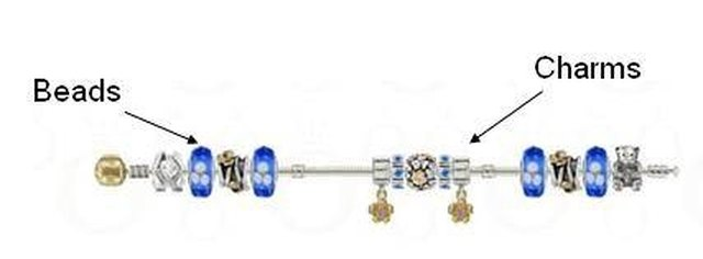 Add Charms And Beads To Your Pandora Bracelet