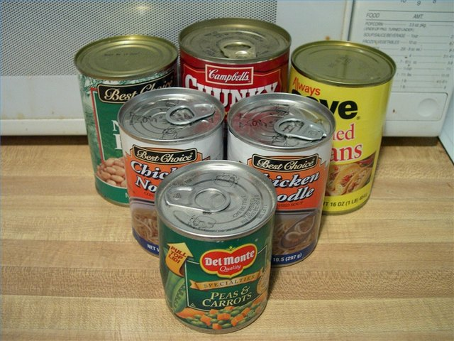 how to cook canned food