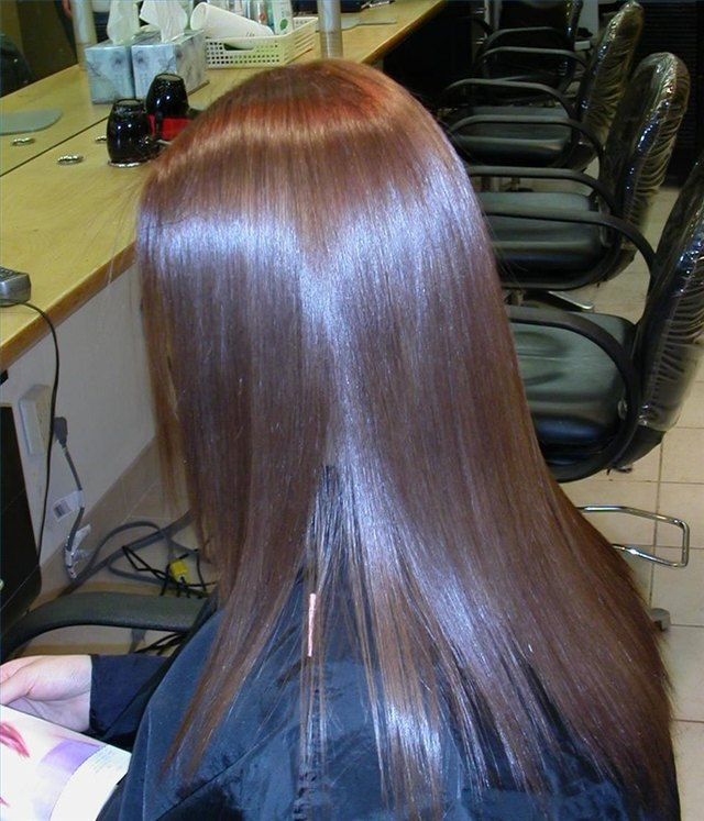 How To Apply Japanese Hair Straightening System Leaftv