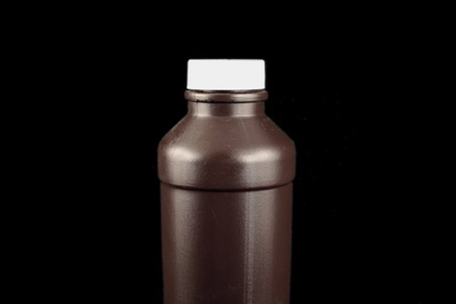 brown bottle