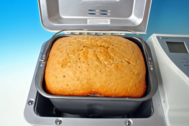Step 1. After baking a bread loaf in your bread machine ...