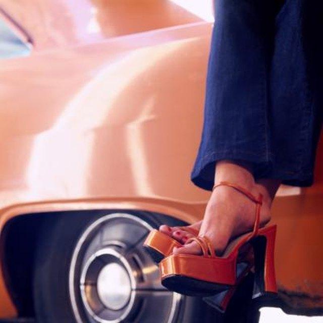 Platform shoes have made a comeback.