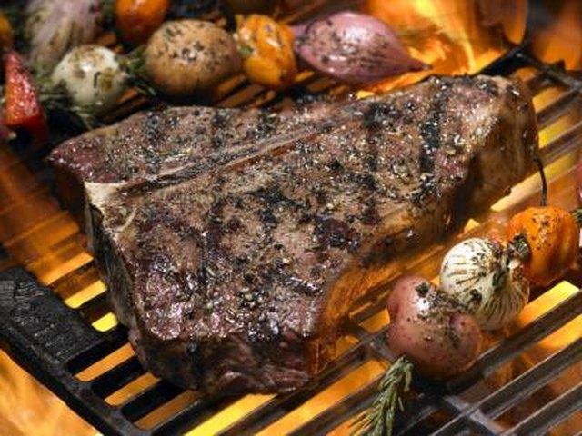 Rock vs New York Strip Steaks
