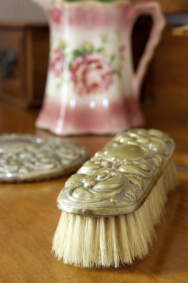 Antique brush.