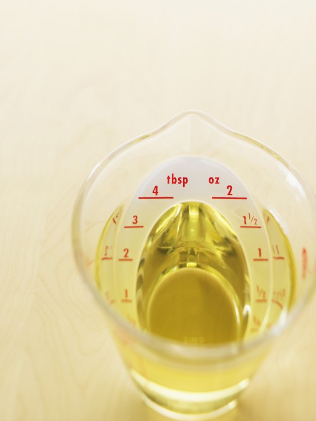 Measuring Cup of Oil