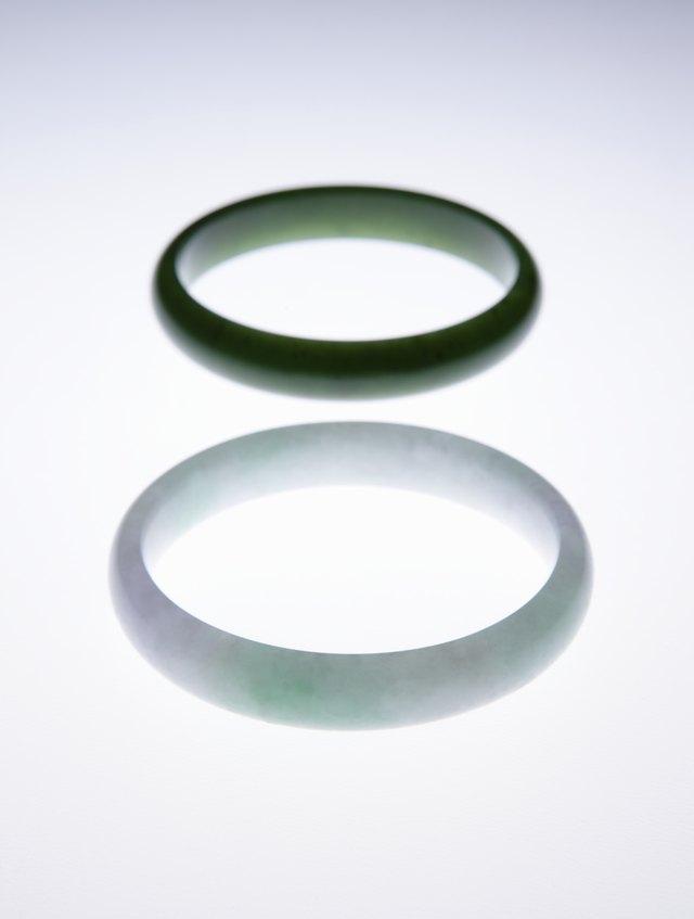Jade bracelet.