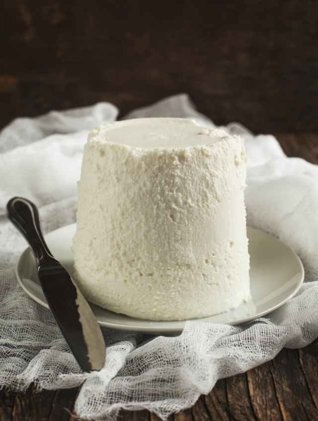 Fresh ricotta cheese