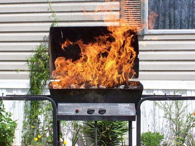 Can A Grill Be Used Once A Fire Extinguisher Has Been