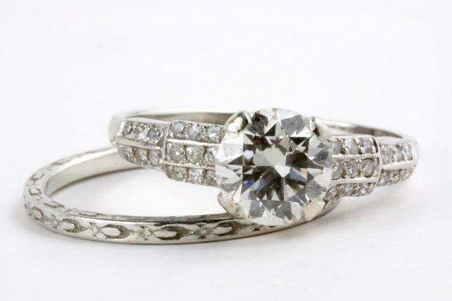 Antique wedding rings
