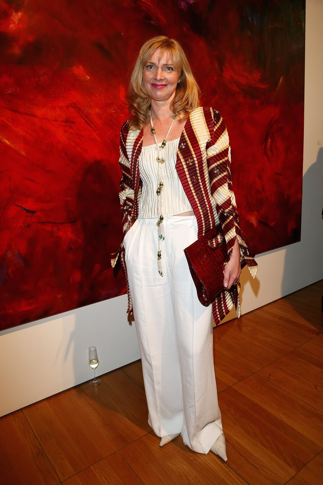 Laurel Holloman 'All The World Inside' Exhibition Opening