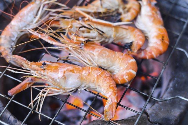 shrimps grill