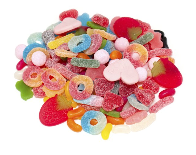 assortment of jelly candy
