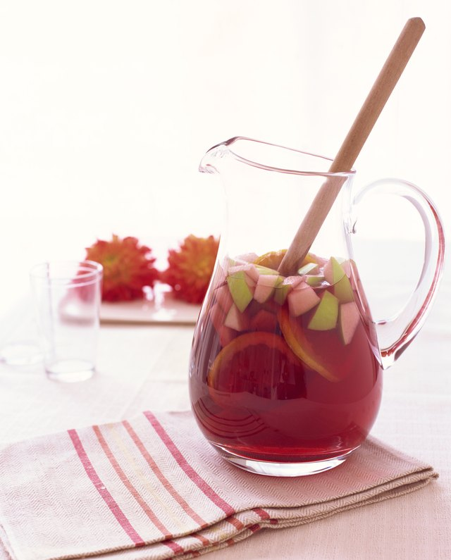 Pitcher of sangria