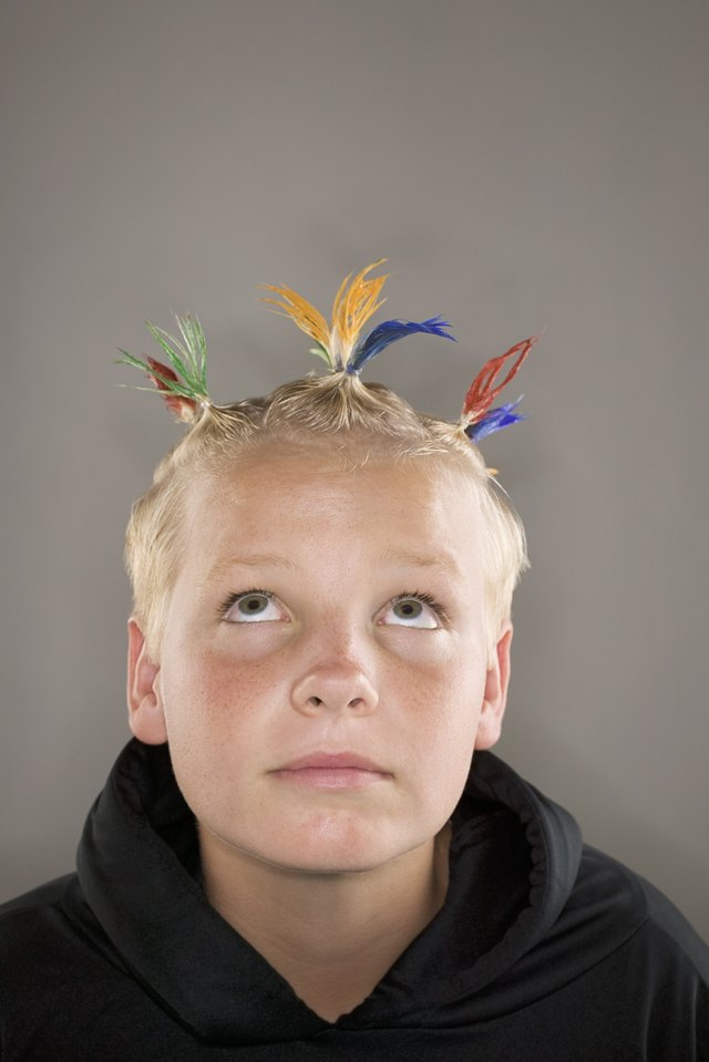 Hairstyles For Wacky Hair Day At School Leaftv