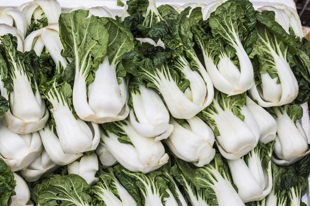 Group of fresh green vegetable (chinese cabbage),bok choy.