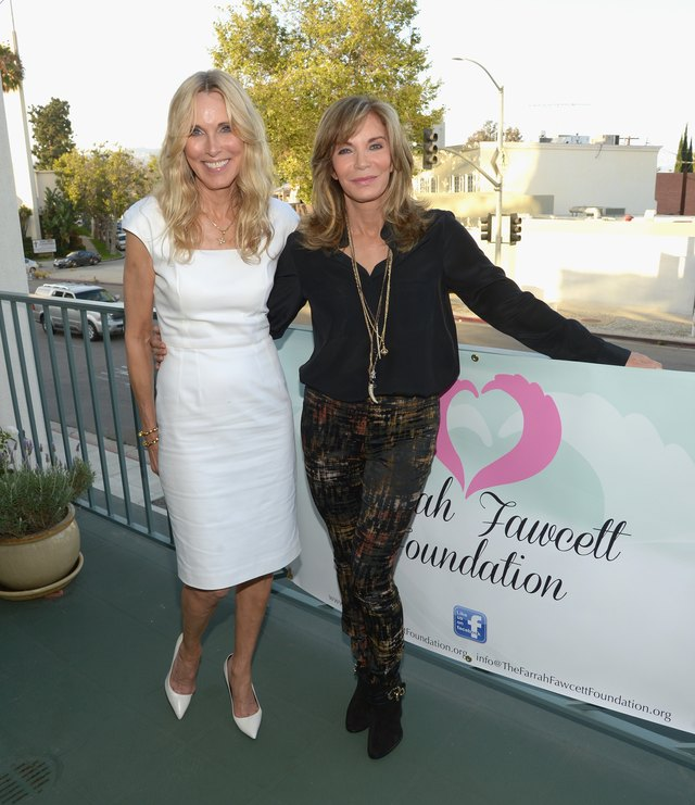 Farrah Fawcett 5th Anniversary Reception