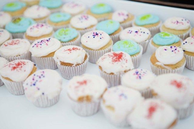 Cupcakes at bake sale