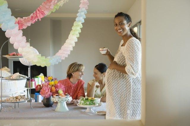 Women at baby shower
