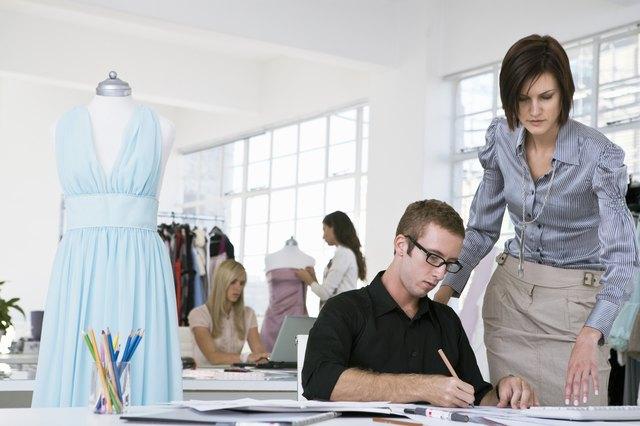 Designers sketching in studio