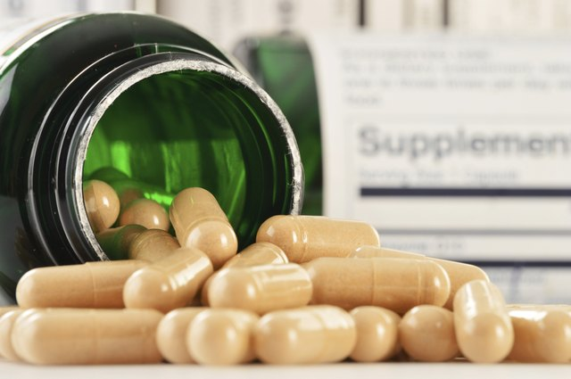 Composition with dietary supplements