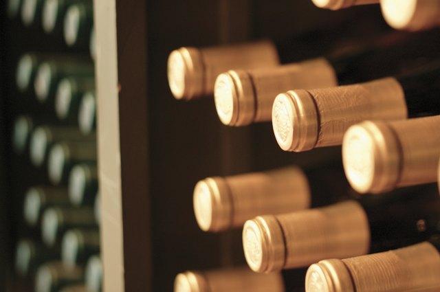Wine bottles