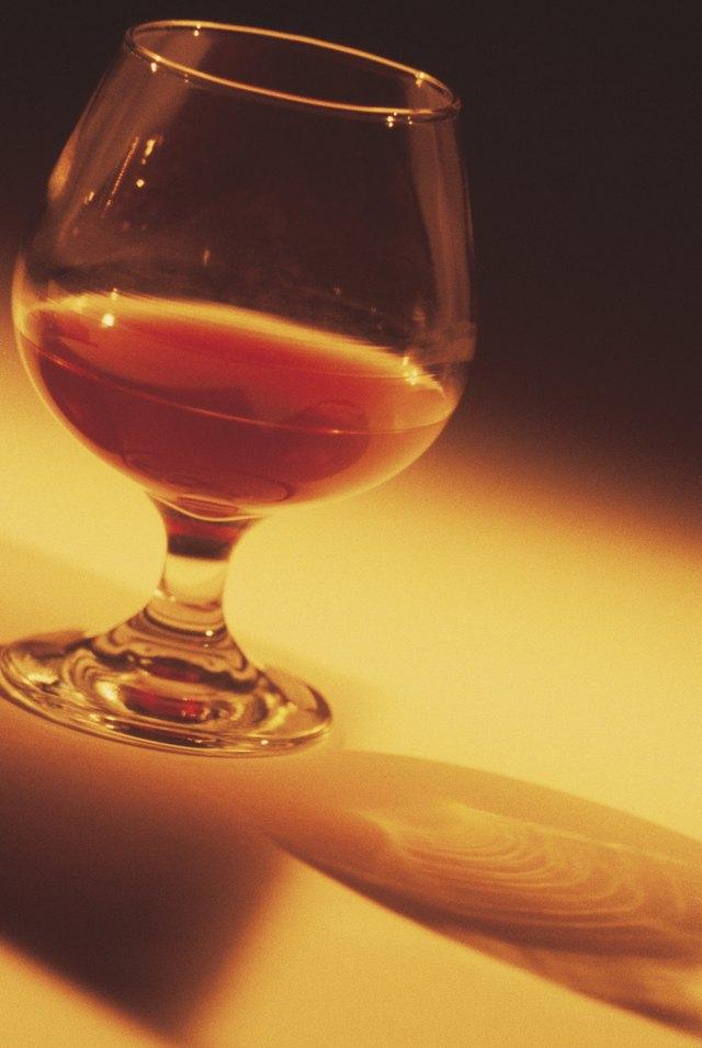 Glass of brandy
