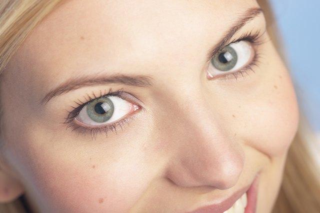 Womans eyes