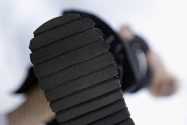 Bottom of shoe, close-up