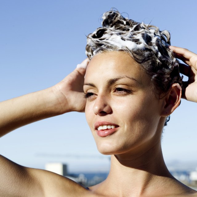 how to get hard gel out of your hair leaftv