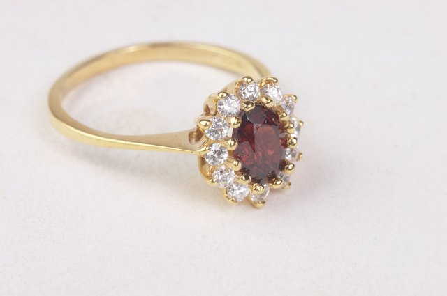 Ring with jewels